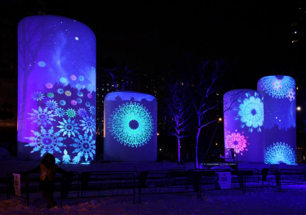 Montréal en Lumières Catehrine Ocelot