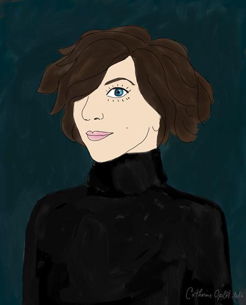 Autoportrait Catherine Ocelot