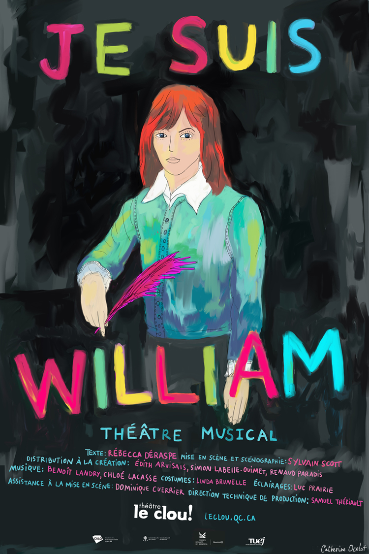Affiche Je Suis William