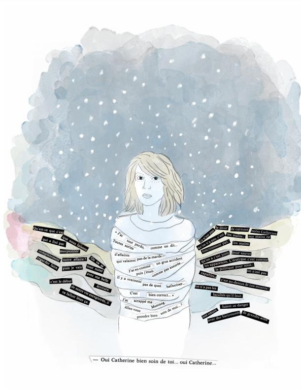 Lecture illustrée de l'hiver de force