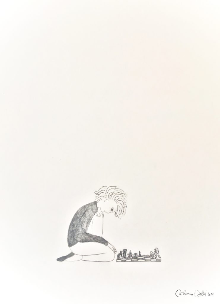 Jouer avec l'hypocondrie, Catherine Ocelot